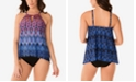 Miraclesuit Vesuvio Peephole Tankini Swim Top and Swim Bottoms